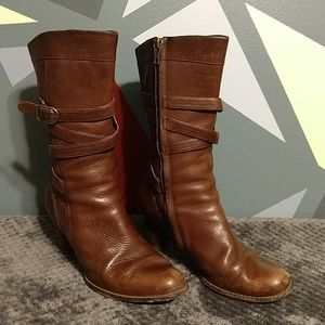 Ugg Caroline Heel Leather Boots